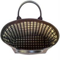 SHIB 酒袋鞄    M-24 黄黒格子/ LATTICE PATTERN