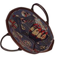 SHIB 酒袋鞄   L-35  ハワイアンプリント  / VINTAGE HAWAIIAN PRINT