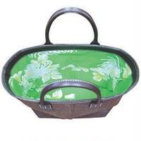 SHIB 酒袋鞄   M-09 アロハ白菊 / ALOHA HAWAIIAN MUUMUU