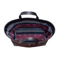 酒袋鞄 SHIB   S-54   手織り縞柄/Hand-woven vintage textile