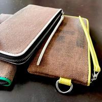 酒袋 財布  SAKE Wallet/Green、Yellow