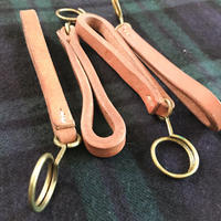 minna HMK_工業用レザーキーホルダー / Industrial Leather Key Holder