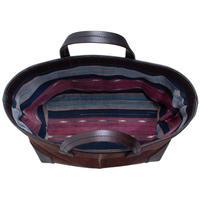 NEW    酒袋鞄 SHIB   S-54   手織り縞柄/Hand-woven vintage textile