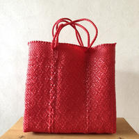 M size Mexican Plastic Tote bag メキシカントートバッグ