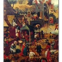 【中古】黄金期フランドル絵画の巨匠たち展 図録