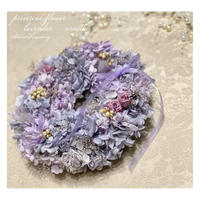 紫陽花のふんわりリース レッスン動画