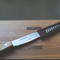 【受注生産~3月納品】ショートサイズ14㎝ ヒヨリブロートロゴ入りパンきりナイフ