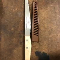 【再販売限定150本】ヒヨリブロートロゴ入りパンきりナイフ ショートサイズ14㎝