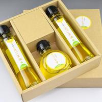 笑顔のえごま油 (3本セット/90g × 3本)長瓶2本+丸瓶1本|低温圧搾一番生搾り100%国内産のプレミアムえごま油