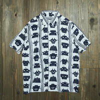 gold school x ssz hawaiian shirt