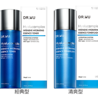 【DR.WU】NTENSIVE HYDRATING ESSENCE TONER WITH HYALURONIC ACID  ヒアルロン酸*1保湿化粧水(150ml)