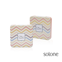 【Solone】単色アイシャドウ&チークカスタマイズパレット(4個用)