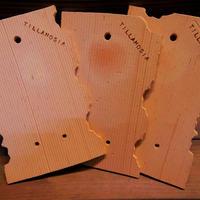 ■チランジア着生用プレート (テラコッタ製) ×3枚セット