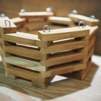 ■木製-木枠鉢(八角型) L-18×18㎝ ×1個