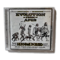EVOLUTION FROM APES [AUTOGRAPHED CD]