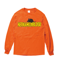 NEZUMI LONG SLEEVE SHIRT (ORANGE)  [在庫あり]
