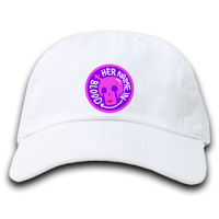 DAD HAT 2021 [PURPLE x WHITE]