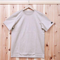 HOFI-004 ペルー超長綿 丸首天竺Tシャツ(メンズ)ベージュ