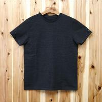 HOFI-007 ペルー超長綿天竺 丸首Tシャツ (メンズ) チャコール