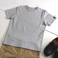 HOFI-012 リネンコットンモンスターオンスTシャツ (メンズ)グレー