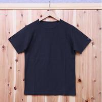 HOFI-002 インド超長綿天竺 丸首Tシャツ(メンズ)ネイビー