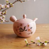 急須 - 桜ピンク -