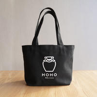 HOHOランチトート -黒-【HOHO HOJICHA】