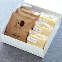 「ホワイトチョコのチーズケーキとホホホ座珈琲大野」ギフトセット