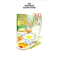 MY FAVORITE ASIAN FOOD(箱入り本バージョン) / LLC インセクツ