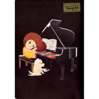マムアン無地ノートブック2種(PIANO・LAMP)