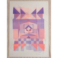 Kione Kochi - Quilt Print /Lavender