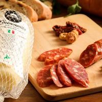 【限定!】ファットリアビオ  通販「カリとろ!濃厚チーズとピリ辛サラミのセット」