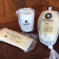【贈り物に】ファットリアビオ  通販「 チーズ3点セット(リコッタサラータ・カチョカヴァロ・グラナディエゾ)」