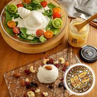 【とろ〜り溢れる!】ファットリアビオ  通販「ブッラータ&リコッタチーズ&はちみつのセット」