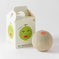 【1玉🍈】鉾田市産クインシーメロン