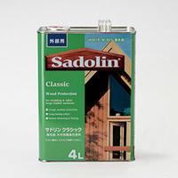 木材保護塗料 サドリン クラシック(4ℓ)