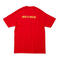 JUST A FRIEND TEE / RED