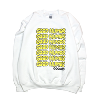Oh's staff Sweat shirts WHITE