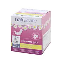 natracare ウルトラパッドロング(多い日〜夜用 羽つき 30cm)