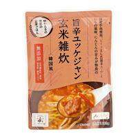 旨辛ユッケジャン玄米雑炊(韓国風)