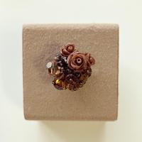 〖RING〗チョコレートみたいなバラのリング