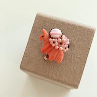 〖RING〗ピンクうまこリング