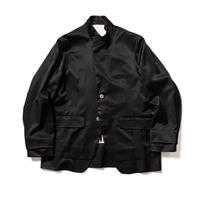 残響 stand neck jacket