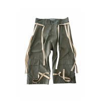 hang strings cargo trousers