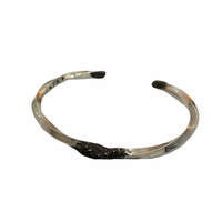prasthana sendagaya exclusive product iolom:io-002-PA Twisted square Piller bangle melt