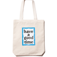 【have a good time】BLUE FRAME TOTE