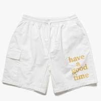 【have a good time】LOGO AQUA SHORTS