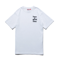 【have a good time】LOGO EMBROIDERED S/S TEE