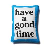 【have a good time】BLUE FRAME CUSHION