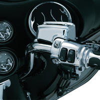 Brake & Clutch Control Dress-Up Kit for '08-'13 Touring、 Chrome 1740